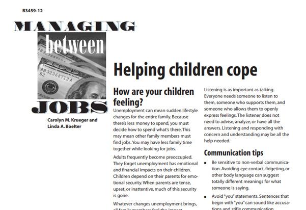 Managing Between Jobs
