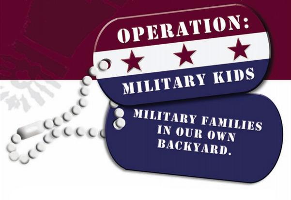 Operation Military Kids: Mility Families in Our Own Backyard