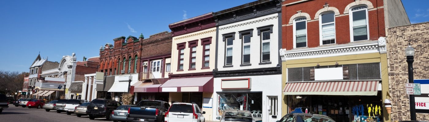 Downtown Baraboo, WI